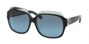 Michael Kors MK6002B Sunglasses Crete Sunglasses - 300117 Black / Blue / Grey Blue Gradient