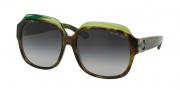 Michael Kors MK6002B Sunglasses Crete Sunglasses - 300211 Tortoise / Green / Grey Gradient