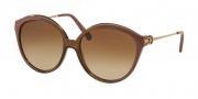 Michael Kors MK6005 Sunglasses Mykonos Sunglasses - 300813 Brown / Brown Gradient