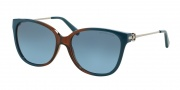 Michael Kors MK6006 Sunglasses Marrakesh Sunglasses - 300717 Brown / Blue / Grey Blue Gradient