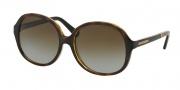 Michael Kors MK6007 Sunglasses Tahiti Sunglasses - 3010T5 Dark Tortoise / Snake / Brown Gradient Polarized