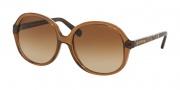 Michael Kors MK6007 Sunglasses Tahiti Sunglasses - 301113 Light Brown / Snake / Brown Gradient