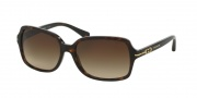 Coach HC8116F Sunglasses Blair Sunglasses - 500113 Dark Tortoise / Brown Gradient