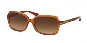 Coach HC8116F Sunglasses Blair Sunglasses - 525113 Light Brown / Brown Gradient