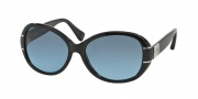 Coach HC8115 Sunglasses Blaine Sunglasses - 500217 Black / Grey Blue Gradient