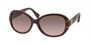 Coach HC8115 Sunglasses Blaine Sunglasses - 525514 Bordeaux / Brown Rose Gradient