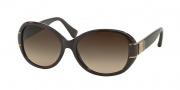 Coach HC8115 Sunglasses Blaine Sunglasses - 525613 Brown / Dark Brown Gradient