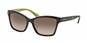 Coach HC8107F Sunglasses Archie Sunglasses - 523213 Dark Tortoise / Dark Brown Gradient
