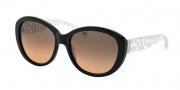 Coach HC8106 Sunglasses Asha Sunglasses - 515195 Black / Grey Orange Gradient