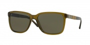 Burberry BE4181 Sunglasses Sunglasses - 335673 Olive / Brown