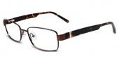 Jones New York J346 Eyeglasses Eyeglasses - Brown