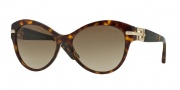 Versace VE4283BA Sunglasses Sunglasses - 108/13 Havana / Brown Gradient