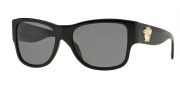 Versace VE4275 Sunglasses Sunglasses - GB1/81 Black / Polarized Grey