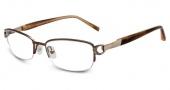 Jones New York J136 Eyeglasses Eyeglasses - Brown