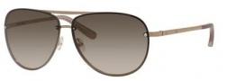 Bobbi Brown The Jackson/S Sunglasses Sunglasses - 01Z6 Shiny Light Gold (CC brown gradient lens)