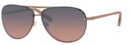 Bobbi Brown The Jackson/S Sunglasses Sunglasses - 01V2 Shiny Rose Gold (RI blupeach/silver mi lens)