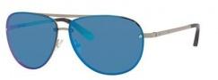 Bobbi Brown The Jackson/S Sunglasses Sunglasses - 0YB7 Shiny Silver (Y3 gray/blue mirror lens)