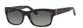 Bobbi Brown The Sofia/S Sunglasses Sunglasses - 01V0 Dark Gray Tortoise (F8 gray gradient lens)