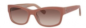 Bobbi Brown The Sofia/S Sunglasses Sunglasses - 01U4 Shell Pink (B1 warm brown gradient lens)