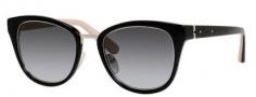 Bobbi Brown The Rowan/S Sunglasses Sunglasses - 0JBD Black Nude (Y7 gray gradient lens)