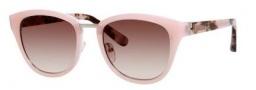 Bobbi Brown The Rowan/S Sunglasses Sunglasses - 0JLW Pink Cream (B1 warm brown gradient lens)