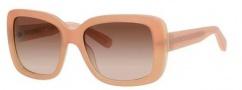 Bobbi Brown The Reagan/S Sunglasses Sunglasses - 0FD4 Matte Blush (B1 warm brown gradient lens)