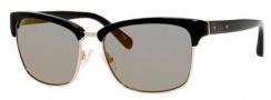 Bobbi Brown The Malcom/S Sunglasses Sunglasses - 0EEI Black (24 light gray lens)