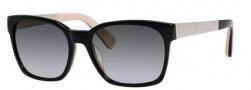 Bobbi Brown The Morgan/S Sunglasses Sunglasses - 0JBD Black Nude (Y7 gray gradient lens)