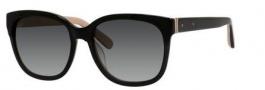 Bobbi Brown The Gretta/S Sunglasses Sunglasses - 0JBD Black Nude (F8 gray gradient lens)