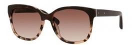 Bobbi Brown The Gretta/S Sunglasses Sunglasses - 0JUJ Brown Blush Tortoise (B1 warm brown gradient lens)