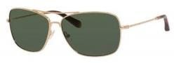 Bobbi Brown The Drew/S Sunglasses Sunglasses - 03YG Light Gold (HY gray lens)