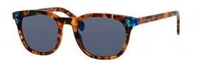 Marc by Marc Jacobs MMJ 458/S Sunglasses Sunglasses - 0A7X Havana Blue Havana (XT blue sky miror lens)