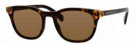 Marc by Marc Jacobs MMJ 458/S Sunglasses Sunglasses - 0A7S Havana Orange Havana (UT dark brown lens)