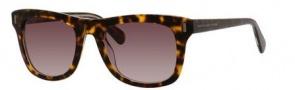 Marc by Marc Jacobs MMJ 432/S Sunglasses Sunglasses - 0KRZ Havana Crystal (HA brown gradient lens)