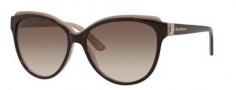 Juicy Couture Juicy 575/S Sunglasses Sunglasses - 0DG3 Havana Pink (Y6 brown gradient lens)