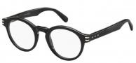 Marc Jacobs 601 Eyeglasses Eyeglasses - 0807 Black