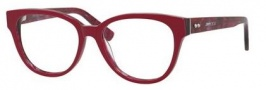 Jimmy Choo 141 Eyeglasses Eyeglasses - 0J4Q Cherry Spotted