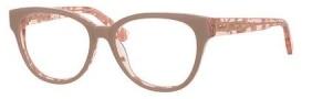 Jimmy Choo 141 Eyeglasses Eyeglasses - 0J42 Nude Spotted