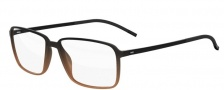 Silhouette Spx Illusion Fullrim 2887 Eyeglasses - 6054 Black / Brown