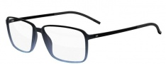 Silhouette Spx Illusion Fullrim 2887 Eyeglasses - 6055 Black / Blue