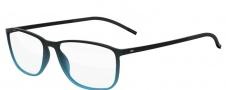 Silhouette Spx Illusion Fullrim 2888 Eyeglasses - 6057 Teal Black Gradient