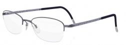 Silhouette Illusion Nylor 4453 Eyeglasses Eyeglasses - 6054 Violet Grey