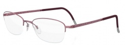 Silhouette Illusion Nylor 4453 Eyeglasses Eyeglasses - 6055 Rose Purple