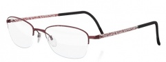 Silhouette Illusion Nylor 4453 Eyeglasses Eyeglasses - 6056 Red