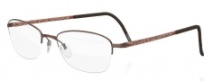 Silhouette Illusion Nylor 4453 Eyeglasses Eyeglasses - 6057 Brown