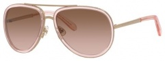 Kate Spade Makenzie/S Sunglasses Sunglasses - 0CW1 Transparent Pink (WI brown pink gradient lens)