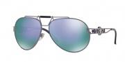 Versace VE2160 Sunglasses Sunglasses - 13494V Violet Shot / Grey Mirror Violet