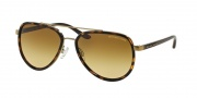 Michael Kors MK5006 Sunglasses Playa Norte Sunglasses - 10342L Tortoise/ Gold / Brown