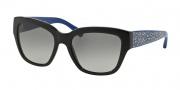 Coach HC8139 Sunglasses L110 Sunglasses - 528211 Black/Blue / Grey Gradient