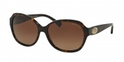 Coach HC8150 Sunglasses L133 Sunglasses - 5120T5 Dark Tortoise / Brown Gradient Polarized